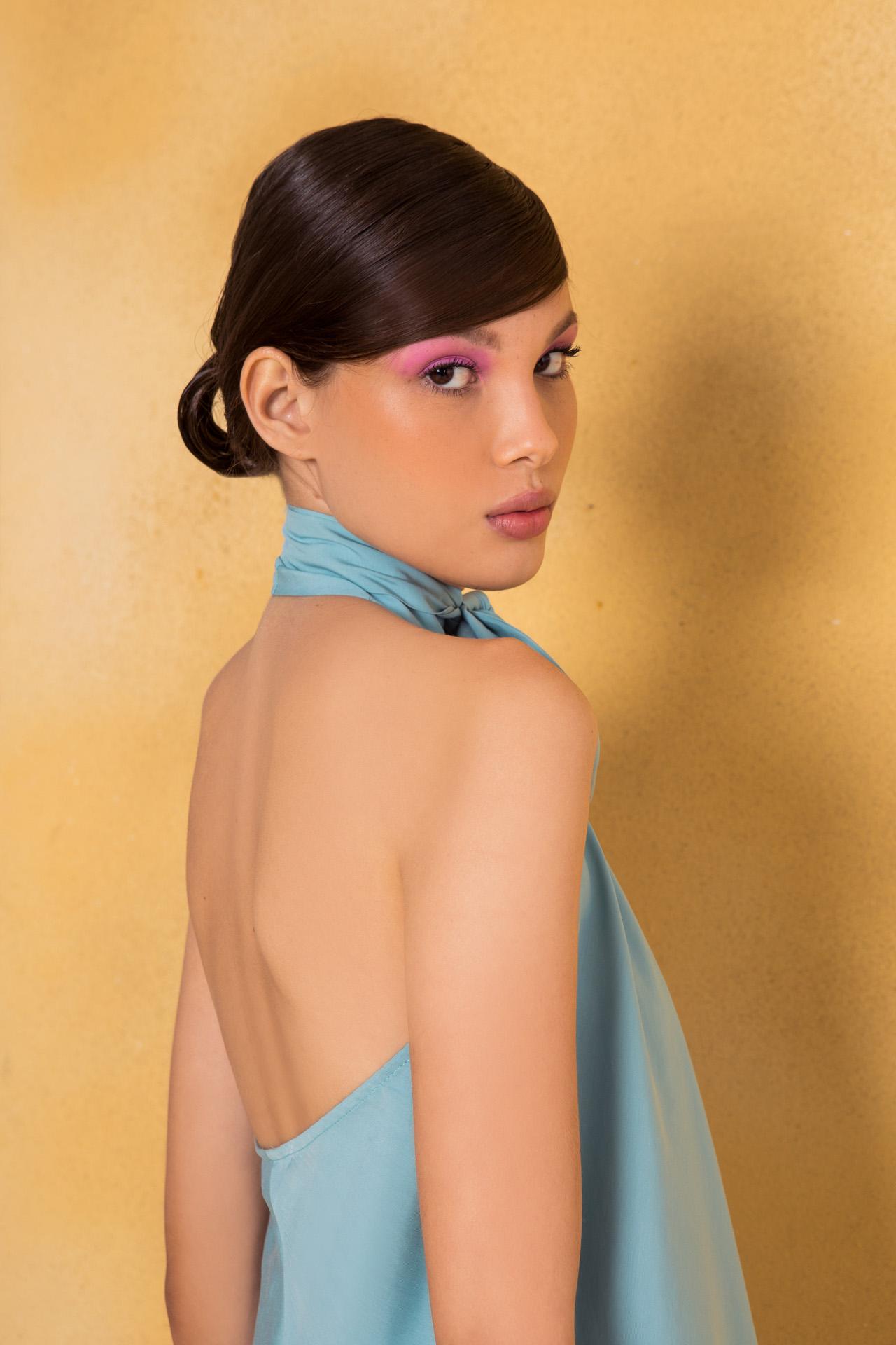 vestido laço costas Iury Costa
